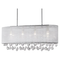 Kuzco Lighting 42156 Signature 6 Light 12 inch Chrome Pendant Ceiling Light