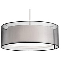Kuzco Lighting 42333B Signature 3 Light 20 inch Brushed Nickel Pendant Ceiling Light