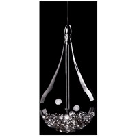 Signature 1 Light 5 inch Chrome Pendant Ceiling Light