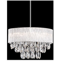 Kuzco Lighting 444008 Signature 8 Light 20 inch Chrome Pendant Ceiling Light