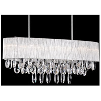 Kuzco Lighting 444010 Signature 10 Light 32 inch Chrome Pendant Ceiling Light