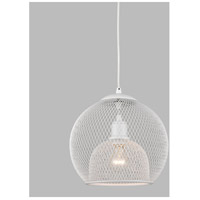 Kuzco Lighting White Gibraltar Pendants