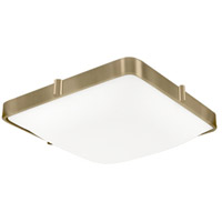Kuzco Lighting 501103-VB Templeton LED 10 inch Vintage Brass Flush Mount Ceiling Light