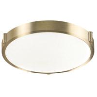 Kuzco Lighting 501112-VB Floyd LED 13 inch Vintage Brass Flush Mount Ceiling Light