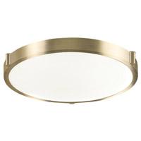 Kuzco Lighting 501122-VB Floyd LED 17 inch Vintage Brass Flush Mount Ceiling Light