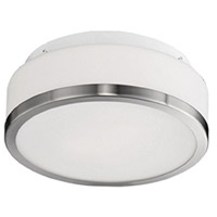 Kuzco Lighting 503902BN Signature 2 Light 13 inch Brushed Nickel Flush Mount Ceiling Light