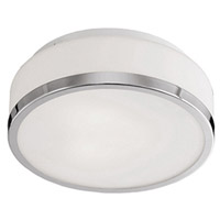 Kuzco Lighting 503902CH Signature 2 Light 13 inch Chrome Flush Mount Ceiling Light