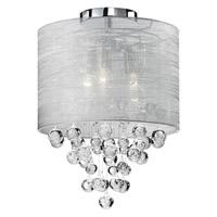 Kuzco Lighting 52152 Signature 2 Light 12 inch Chrome Semi-Flush Mount Ceiling Light