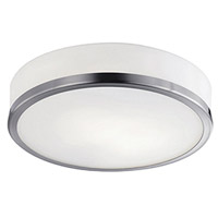 Kuzco Lighting 56011BN Signature 1 Light 8 inch Brushed Nickel Flush Mount Ceiling Light