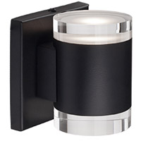 Norfolk LED 5 inch Black Wall Sconce Wall Light