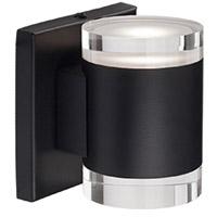 Kuzco Lighting 601431BK-LED Norfolk LED 5 inch Black Wall Sconce Wall Light