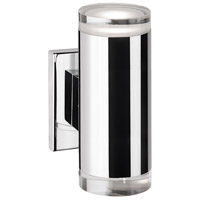 Norfolk LED 3 inch Chrome Wall Sconce Wall Light
