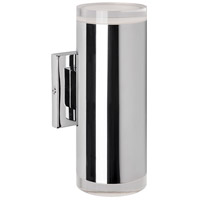 Signature LED 4 inch Chrome Wall Sconce Wall Light