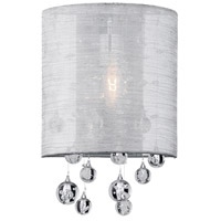 Signature 1 Light 8 inch Chrome Wall Sconce Wall Light