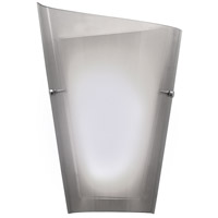 Kuzco Lighting 699013L-SM Calla 2 Light 5 inch Smoked Sconce Wall Light
