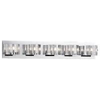 Kuzco Lighting 701045 Signature 5 Light 31 inch Chrome Vanity Light Wall Light