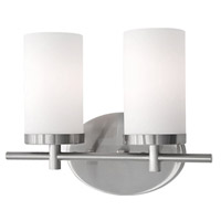 Kuzco Lighting 70272BN Signature 2 Light 13 inch Brushed Nickel Vanity Light Wall Light