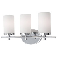 Kuzco Lighting 70273CH Exeter 3 Light 19 inch Chrome Vanity Light Wall Light alternative photo thumbnail