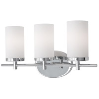 Kuzco Lighting 70273CH Exeter 3 Light 19 inch Chrome Vanity Light Wall Light photo thumbnail