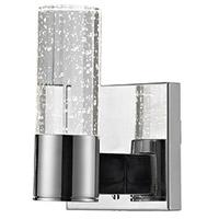 Kuzco Lighting 770011CH-LED Signature LED 5 inch Chrome Vanity Light Wall Light