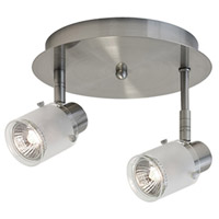 Kuzco Lighting 81352BN Signature 2 Light 120V Brushed Nickel Track Lighting Ceiling Light