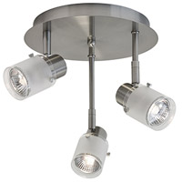 Kuzco Lighting 81353BN Signature 3 Light 120V Brushed Nickel Track Lighting Ceiling Light