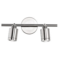 Kuzco Lighting 88292BN Belfast 2 Light 120V Brushed Nickel Track Lighting Ceiling Light