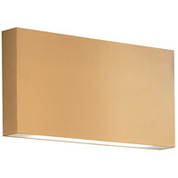 Kuzco Lighting AT6610-GD Mica LED 6 inch Gold Outdoor Wall Sconce All-Terior