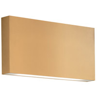 Kuzco Lighting AT6610-GD Mica LED 10 inch Gold Sconce Wall Light, All-Terior