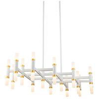 Kuzco Lighting CH19732-WH Draven 32 inch White Chandelier Ceiling Light