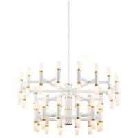 Kuzco Lighting CH19833-WH Draven 32 inch White Chandelier Ceiling Light