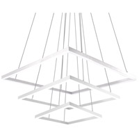 Kuzco Lighting CH62255-WH Piazza LED 55 inch White Chandelier Ceiling Light