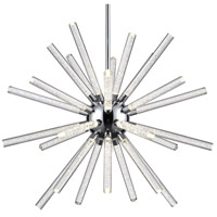 Astro LED 41 inch Chrome Chandelier Ceiling Light