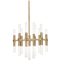 Kuzco Lighting CH9621-VB Turin LED 21 inch Vintage Brass Chandelier Ceiling Light
