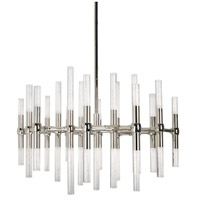 Kuzco Lighting CH9628-PN Turin LED 27 inch Polished Nickel Chandelier Ceiling Light
