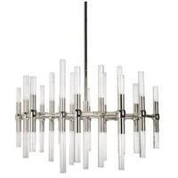 Kuzco Lighting CH9628-PN Turin LED 27 inch Polished Nickel Chandelier Ceiling Light