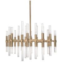 Kuzco Lighting CH9628-VB Turin LED 27 inch Vintage Brass Chandelier Ceiling Light