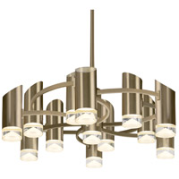 Kuzco Lighting CH9830-VB Berlin LED 30 inch Vintage Brass Chandelier Ceiling Light