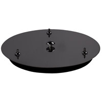 Kuzco Lighting CNP03AC-BC Signature Black Chrome Canopy