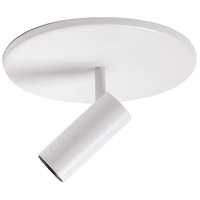 White Downey Semi-Flush Mounts