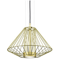 Kuzco Lighting EP68320-GD Arctic LED 20 inch Gold Outdoor Pendant