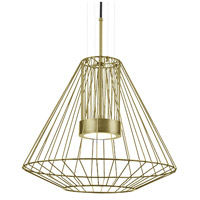 Kuzco Lighting EP68420-GD Arctic LED 20 inch Gold Outdoor Pendant