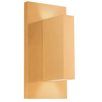 Kuzco Lighting EW22109-GD Vista LED 9 inch Gold Outdoor Wall Sconce