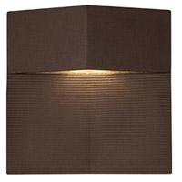 Element LED 8 inch Espresso Outdoor Wall Sconce