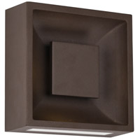Baltic LED 8 inch Espresso Outdoor Wall Sconce