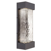 Moondew LED 18 inch Graphite Outdoor Wall Sconce