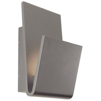 Logan LED 16 inch Grey Outdoor Wall Sconce