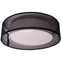 Kuzco Lighting FM11415-BK Covina LED 15 inch Black Flush Mount Ceiling Light