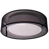 Kuzco Lighting FM11420-BK Covina LED 20 inch Black Flush Mount Ceiling Light