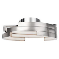 Kuzco Lighting FM12722-BN Anello LED 22 inch Brushed Nickel Flush Mount Ceiling Light